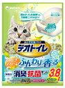 ショッピング猫砂 【J】 ユニ・チャーム ペット デオトイレ ふんわり香る 消臭・抗菌サンド ナチュラルグリーンの香り (3.8L)