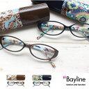 Bayline リーディンググラス(老眼鏡) オーバルフレーム ペイズリー 老眼鏡 女性 おしゃれ 10P07Nov15