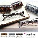 Bayline リーディンググラス(老眼鏡) オーバルフレーム アニマル/カモフラージュ 老眼鏡 女性 おしゃれ