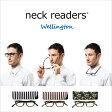 Bayline 『neck readers』 ネックリーダーズ ウェリントン (コンパクトに持ち運べるケース付!) 機能性を追求した新感覚リーディンググラス(老眼鏡) 【あす楽対応】 PCメガネ 老眼鏡 ベイライン ブルーライト 10P07Nov15