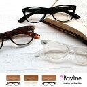 Bayline PC対応リーディンググラス(老眼鏡) カジュアル ウェリントン   PCメガネ 老眼鏡 ブルーライト おしゃれ 10P07Nov15