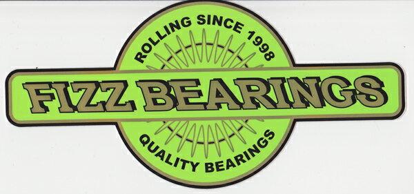 ステッカー【FIZZ BEARINGS】フィズベアリング(小)【ステッカー】【スケートボード】【スノーボード】【スケボー】【スノボ】スポーツ・アウトドア ストリート系スポーツ