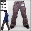 レンタル可 スポーツ・アウトドア ウインタースポーツ スノーボード メンズウエア パンツ686 Smarty Cargo Slim Pant...