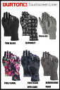 【バートン国内正規品】BURTON Touchscreen Liner Glove/インナー グローブ/アウトドア/ウインタースポーツ/スノーボード/グローブ【あす楽対応】