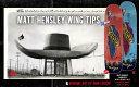 BLACKLABEL WING TIPS MATT HENSLEY 8.75inc X 32.25inc デッキ スケートボード スケボー sk8 デッキ ブラックレーベル マットヘンズ..