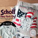 ★SALE | Schott/ショット 公式通販 | アメリカンコットンを使用した日本製の無地ポケットTシャツV NECK POCKET TEE (Vネック)アメリカンテイストのパッケージに入ったパックT※セール/アウトレット品につき交換 返品不可