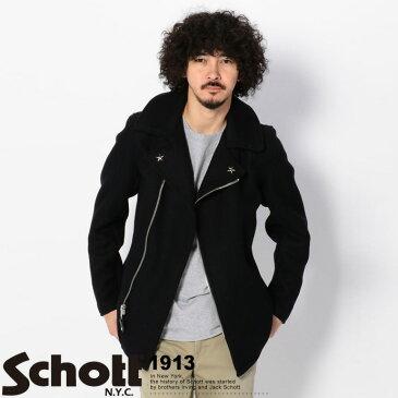 Schott/ショット 公式通販 | 779 ウール フロントジップ ピーコート779 WOOL PEA COAT FRONT ZIP【送料無料】