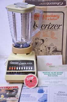 オスタライザー vintage-Brenda cycle blending completely unused deadstock Osterizer juicer mixer