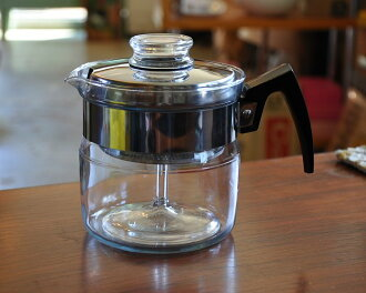 フレームウェア Pyrex 4 cup percolator: Pyrex PYREX Corning coffee maker