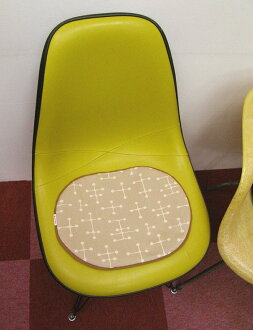 Seat pad Eames small dot sand SCOOPS original