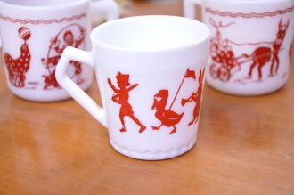 To-ーゼルアトラス child mug animal band HazelAtlas