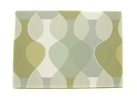 Scandinavian wall panel Malaga Mona Bjork design size M Sepia light green colours