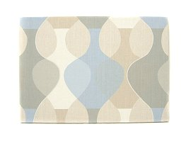 Scandinavian wall panel Malaga Mona Bjork design size M MonacoBlue (thin light-blue based color)