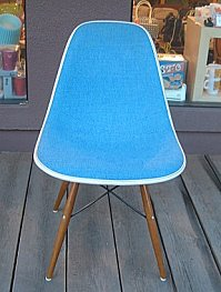 Herman Miller Eames original bloomilniro / fabric side shell herman miller Eames