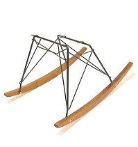 Eames eames-shell Chair rocker base-black