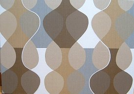 Scandinavian wall panel Malaga Mona Bjork design size L Brown