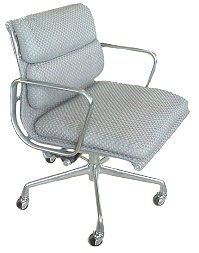 Eames Herman Miller pads and group management-Chair herman miller Eames Aluminum revolving payment CP