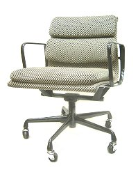 Eames Eames Herman Miller pads & Group Management Chair rare Alexander, Giraldo fabric herman miller LIBO pay CP