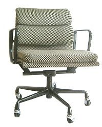 Eames Eames Herman Miller pads & Group Management Chair rare Alexander Giraldo fabric herman miller