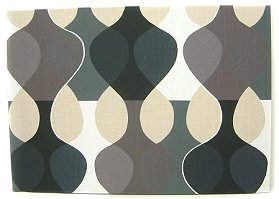 Scandinavian wall panel Malaga Mona Bjork design size L black