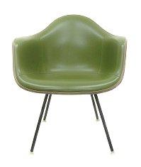 Eames Herman Miller original green-ナウガハイド amschel, Chair herman miller Eames Armshell