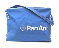 Pan am airlines airline shoulder bag PANAM ◆ sky blue