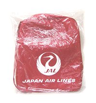 JAL Japan Airlines airline shoulder bag unused dead stock