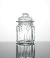 グラスキャニ star lid glass jar XS size
