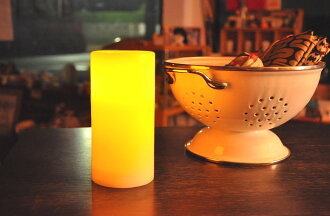 Is safe with LED candles battery operated warm shimmer size M