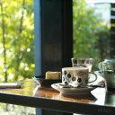 Arabia Paratiisi(アラビア パラティッシ) コーヒーカップ&ソーサー ブラック