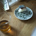 【スコープ別注】東屋 / 印判小皿 カッコー 緑彩
