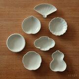 東屋 (あづまや) 豆皿 土灰
