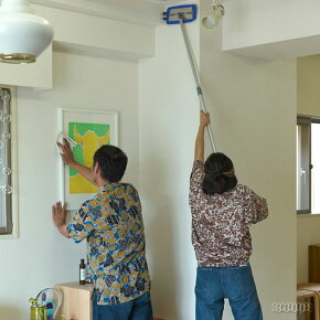 MQ Duotex / プレミアムモップ 30cm グレー 本体&クロスセット [MQモップ 床掃除 天井 壁]