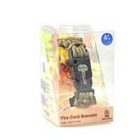 BushCraft ブッシュクラフト ファイヤーコードブレスレット マルチカモ S 火口が見つからなくても火おこしができるブレスレット!!の画像
