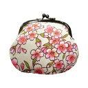 がま口財布 3.2寸 中桜白 和雑貨 和KOMONO 日本製 ギフト プレゼント 0211 高級感あるがま口財布