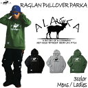 ALASCA パーカー スノーボード RAGLAN PULLOVER PARKA moose 2016-17 スノボー ウェア スノボ スキー 裏起毛 アラスカ...