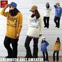 BANPS クルーネック ニット セーター スノーボード C...