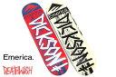 DEATHWISH デスウィッシュ/ JD Emerica Red/Blue Deck 8.25 /スケートデッキ/国内正規品!!サイズ:8...