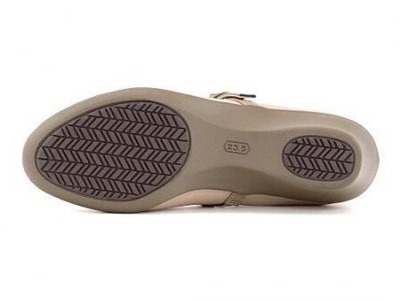ベネトンオールデイウォークパンプス痛くないウェッジソールストラップローヒール歩きやすい疲れないウォーキングシューズスニーカーレディースオフィスフォーマルトラベルコンフォート美脚軽量撥水雨雪靴PKBYBENETTONALLDAYWalk384ベージュ