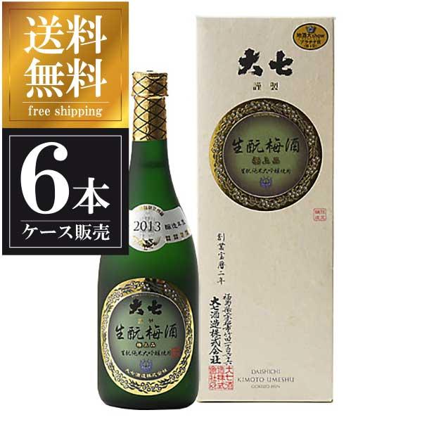 大七 生もと梅酒 極上品 720ml x 6本 ...の商品画像