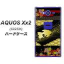 softbank AQUOS Xx2 502SH ハードケース / カバー【174 天の川の金魚(和柄) 素材クリア】 UV印刷 ★高解像度版(アクオス ダブルエックス2 502SH/502SH/スマホケース)