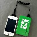 5000mAH USB大容量モバイルバッテリー【163 非常口】2つのデバイスを同時に充電。スマホ、ipadなど充電可能【スマホケース専門店】 充電器