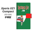 Xperia XZ1 Compact SO-02K 手帳型スマホケース【YC971 ピンナップガール02】