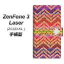 ZenFone3 Laser ZC551KL 手帳型スマホケース【YC837 インディアンデザイン01】(ゼンフォン3レーザー ZC551KL/ZC551KL/スマホケース/手帳式)
