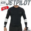 【2020】【送料無料】X1 L/S RASHIE BLACK ジェットパイロット ラッシュ 長袖 メンズ JA20507