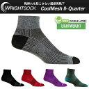 (パケット便送料無料)WRIGHTSOCK(ライトソック) COOLMESH Quarter W0003(ランニング/サイクル/ウォーキング)