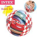 INTEX(インテックス) ビーチボール カーズ CARS 水遊び プール 58053(パケット便送料無料)