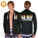 【あす楽】Op(オーピー)UVパーカー SURFプリントルーズZip・UPF50+(メンズ水着)515-482(パケット便送料無料)