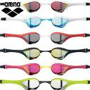(パケット便200円可能)arena(アリーナ)COBRA ULTRA ミラーレーシングゴーグル AGL-180M(水中眼鏡/競泳/Fina承認/ミラー加工)