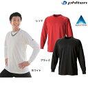 ショッピングファイテン (パケット便送料無料)phiten(ファイテン)RAKUシャツ SPORTS (吸汗速乾) 長袖・アクアチタン含浸Tシャツ(ユニセックス)jf900